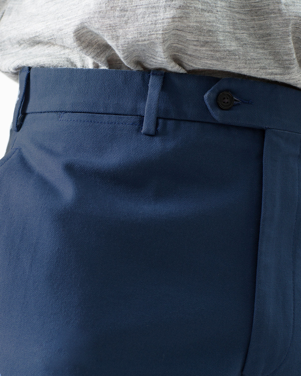 12oz Cotton Canvas Chino, Blue