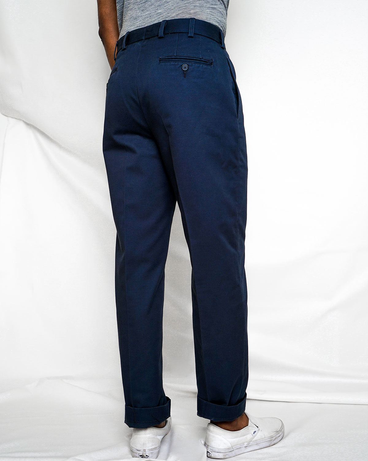 7oz Cotton Chino, Navy
