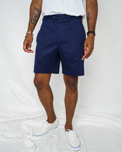 5oz Japanese Cotton Shorts, Navy