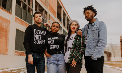 Not Sorry Apparel featured in Detroit Is It