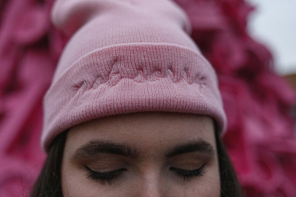 Not Sorry Embroidered Beanie