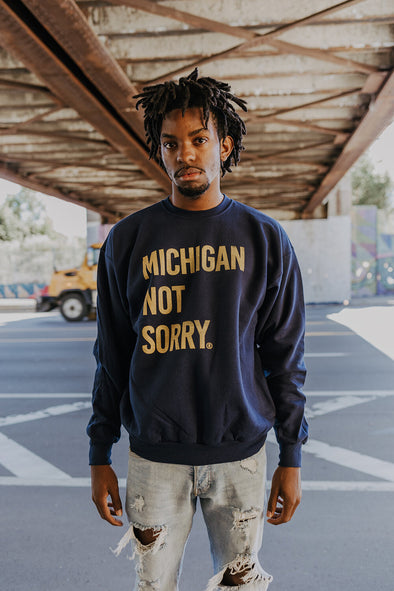 Michigan Not Sorry® Crew