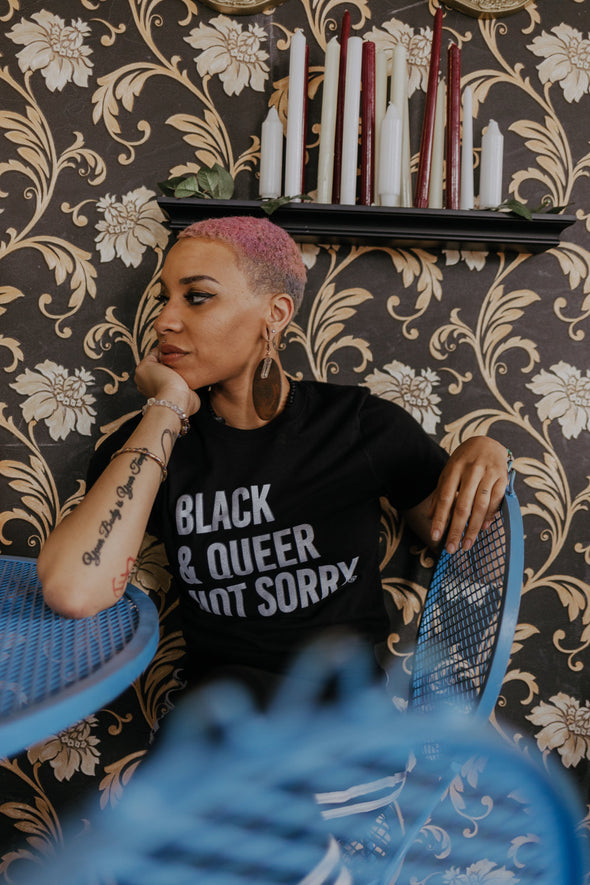 Black & Queer Not Sorry® Tee