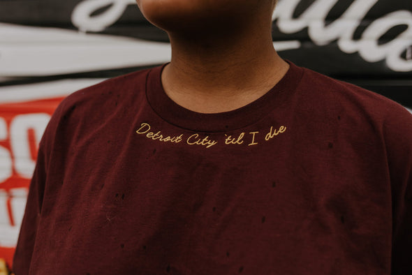 Detroit City 'Til I Die Tee