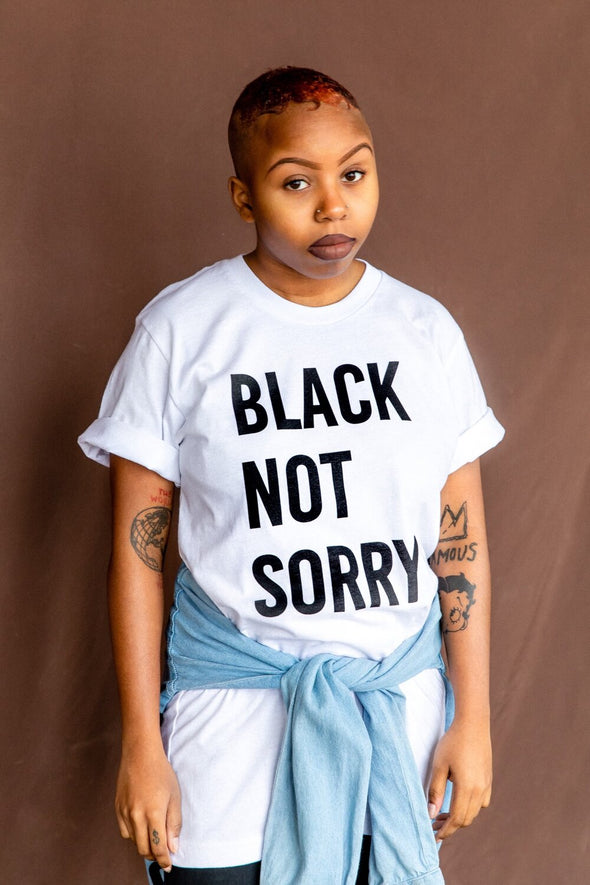 Black Not Sorry® Tee