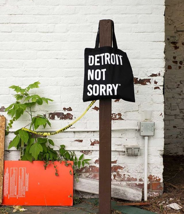 Detroit Not Sorry® Tote