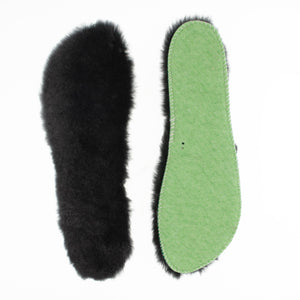 Replacement sheepskin insoles for women slippers