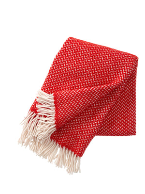 Polka Lambs Wool Throw