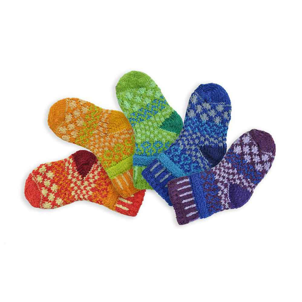 Load image into Gallery viewer, Solmate Prism Baby Socks