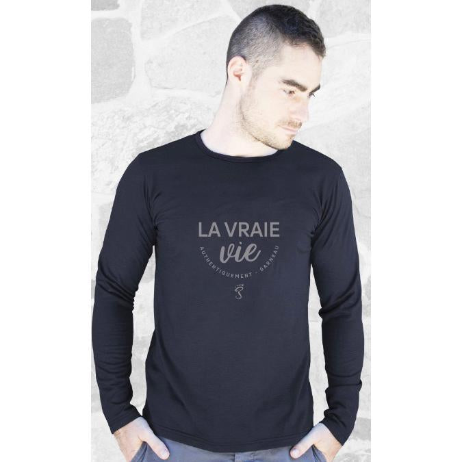 Load image into Gallery viewer, Black Merino Long Sleeve Shirt