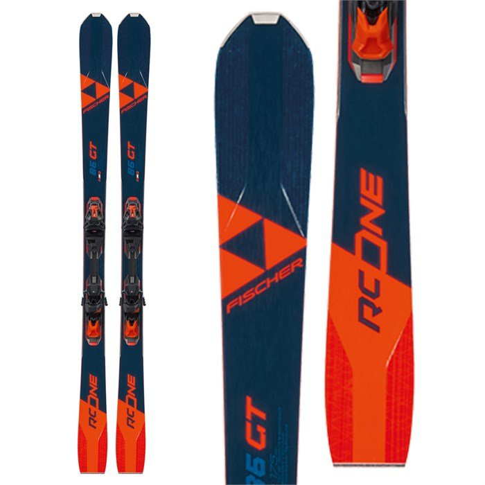 Fischer RC One 86 GT Skis W/RSW 12 GW Bindings - 2021