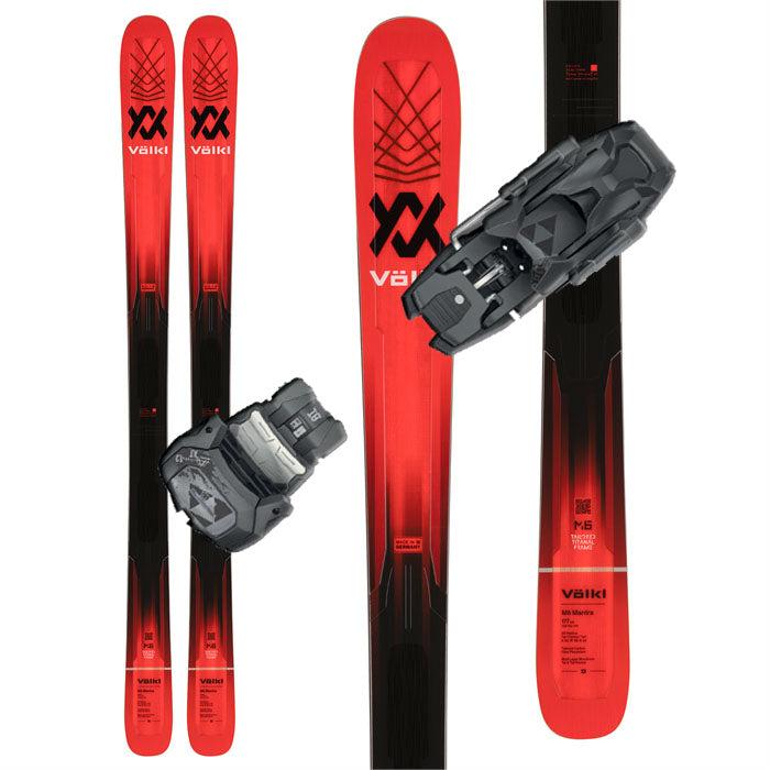 Volkl M6 Mantra Skis w/Tyrolia Attack 13 AT Bindings - 2022