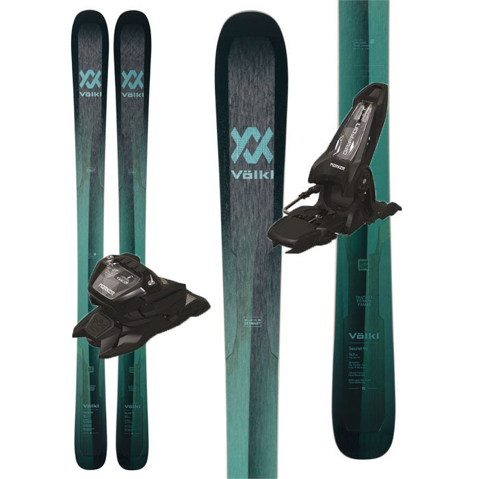 Volkl Secret 96 Women's Skis w/Marker Griffon 13 ID - 2022