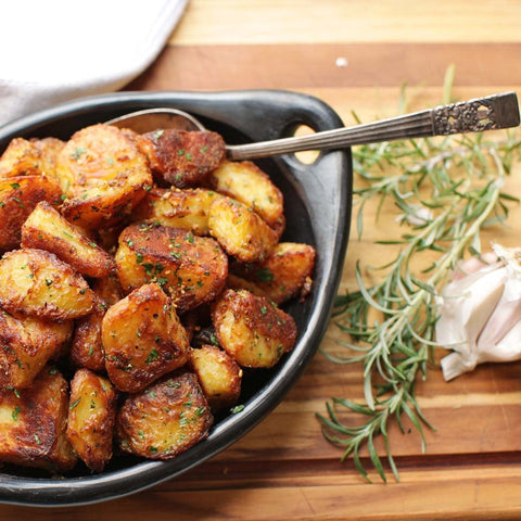 Duck fat roasted potatoes, cayenne aioli. Serves 20 guests