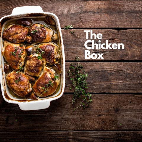 The Chicken box - serves 10 guests.