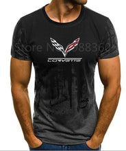 Load image into Gallery viewer, High quality 2019 Men's Brand Clothing summer Chevrolet corvette T-shirt short-sleeved shirt CAN-AM BRP cool T-Shirt