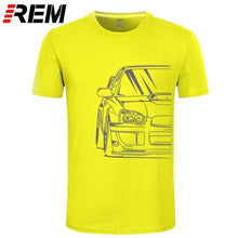 Load image into Gallery viewer, Fashion Hot sale 100% cotton Japanese Classic Car Wrx Sti | JDM TUNER CAR APPAREL TURBO SUBIE IMPREZZA AUTOMOTIVE T-SHIRT