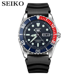 seiko watch men 5 automatic watch Luxury Brand Waterproof Sport Wrist Watch Date mens watches diving watch relogio masculin SNZF