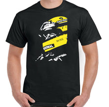 Load image into Gallery viewer, AYRTON SENNA T-Shirt Mens F1 Formula 1 Unisex Brazil Legend Motorsport Car Plus Size Clothing Tops Tee Shirt