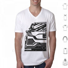 Load image into Gallery viewer, Civic Type R Fragment T Shirt 6Xl Cars Vehicle Auto Automotive Vector Legend Jdm Japan Wheel Car Race Racing Sport Sportcar
