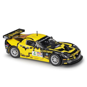 Bburago 1:24 Corvette C6R Racing Car Static Simulation Diecast Alloy Model Car