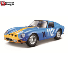 Load image into Gallery viewer, Bburago 1:24 Ferrari 250 GTO Car Model Die-casting Metal Model Children Toy Boyfriend Gift Simulated Alloy Car Collection