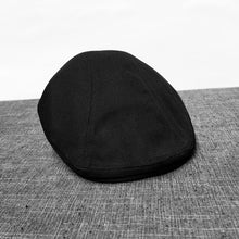 Load image into Gallery viewer, Mens Womens Cotton Duckbill Cap Ivy Cap Driving Sun Flat Cabbie Newsboy Hat Unisex berets BLM81