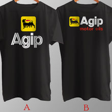 Load image into Gallery viewer, Agip Motor Oils Automotive Gasoline T Shirt Cotton Brand New