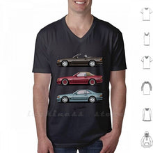 Load image into Gallery viewer, Classic T Shirt Cotton 6Xl Automotive Automotivearts Carposters Speedhunters Rauhweltbegriff Coupe Cabrio Sl Roadster Car W124