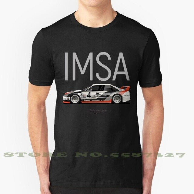 Imsa Gto Cool Design Trendy T-Shirt Tee 90 Imsa Gto Sport Groupb Rally Black Cars Car Oldcar Oldtimer Automobile Automotive