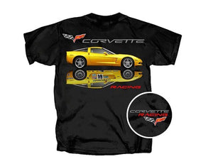2019 New Brand Clothing Custom Special Print Men Corvette T-Shirt Racer Reflection Muscle Car-Large 3D Printed T-Shirts