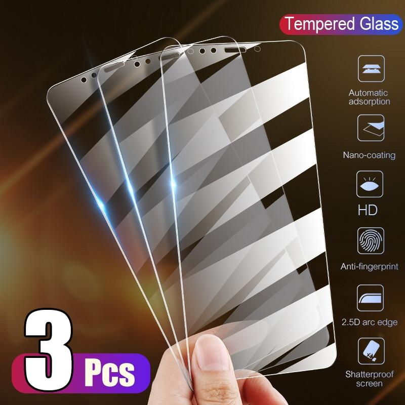 Cover Glass on the For  iPhone X XS Max XR Tempered Glass For iPhone 7 8 6 6s Plus 5 5S SE 11 Pro Screen Protector