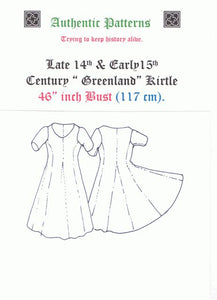 "14th & 15th Century Kirtle "" Greenland """