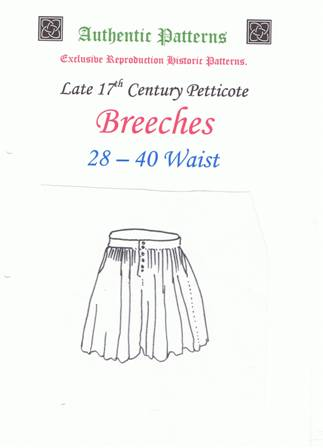 17th Century Petticote Breeches