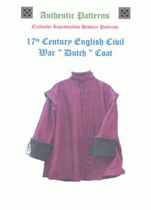 17th Century ECWS Dutch Coat