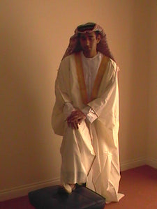 Arabic Robe - Gold