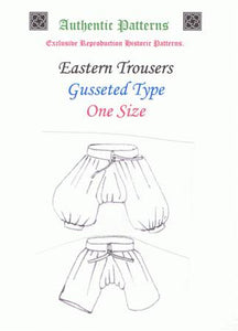 ZP- 17th C Eastern Trousers