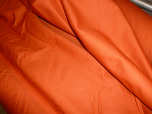 Terracotta Twill Cotton Fabric