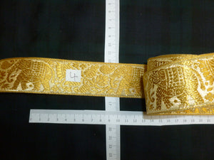 Variety of Gold Wire Braids.
