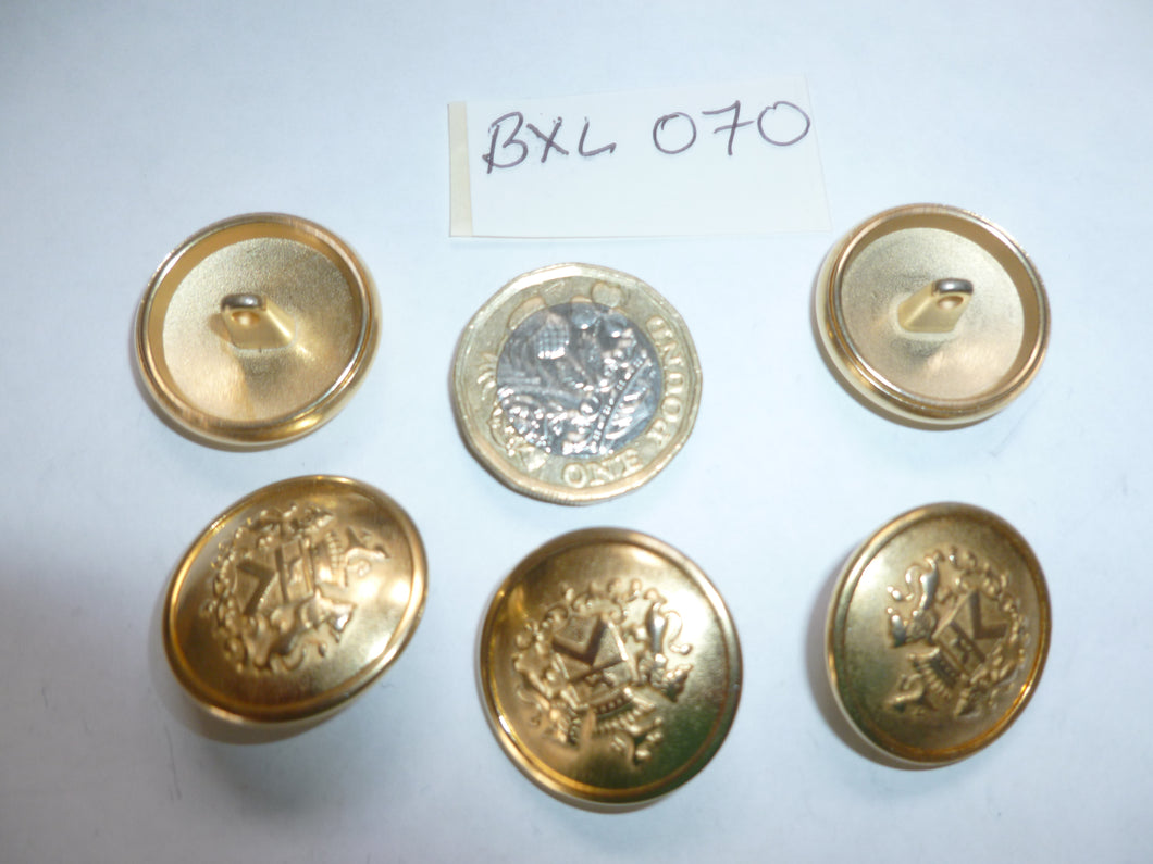 Military Buttons ( BXL 070 )