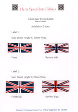 Load image into Gallery viewer, Union Jack Label