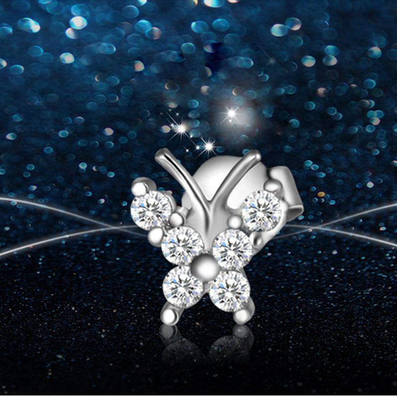 Butterfly Design Stud Earrings