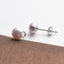 Natural Cultured Freshwater Pearl Stud Earrings