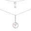 Sparkle Star 925 Sterling Silver Pendant Necklace