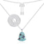 Sterling Silver Fashion Wind Bell Pendant Necklace
