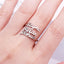 Personalized 3-Row Name Ring