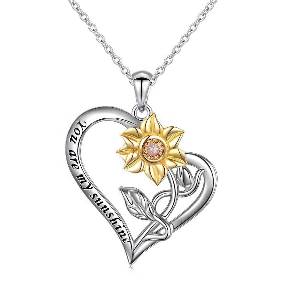 """You Are My Sunshine"" Necklace 