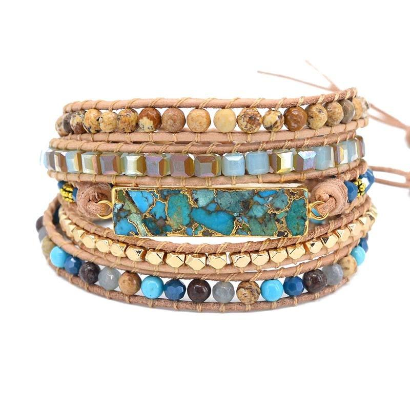 Summer Goddess Wrap Bracelet