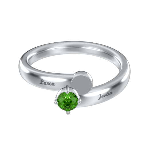 Mother Ring With Birthstone
