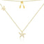 Classic Star Pendant Sterling Silver Necklace